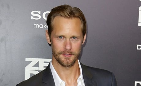 Alexander Skarsgård Poses Fully Nude After Reaching the