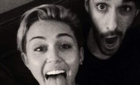 Miley Cyrus: Tongue Out