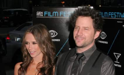 Jennifer Love Hewitt Strolls with Ross McCall, Wears Engagement Ring