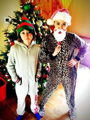 Miley Cyrus and Noah Cyrus