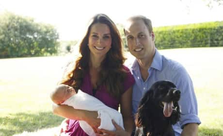Royal Baby Photo: Family Portrait