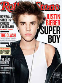 Justin Bieber for Rolling Stone