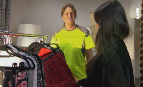 Bruce Jenner to Kim Kardashian: I Stole Your Clothes!