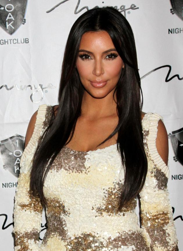 Kim Kardashian at Rob's Party