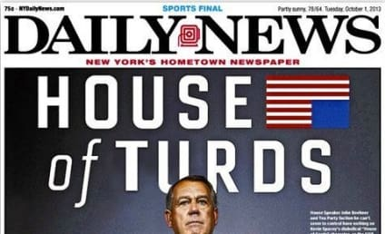Government Shutdown Mocked By N.Y. Daily News, World