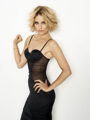 Dianna Agron in Cosmo