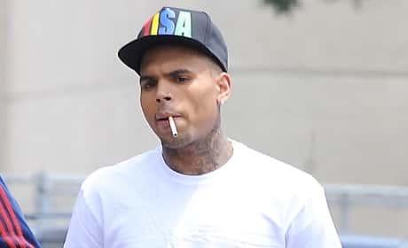 Chris Brown Arm Tattoo