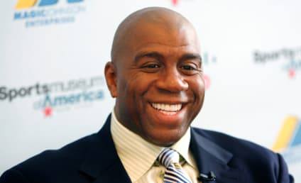 Magic Johnson Tweets Support for Charlie Sheen
