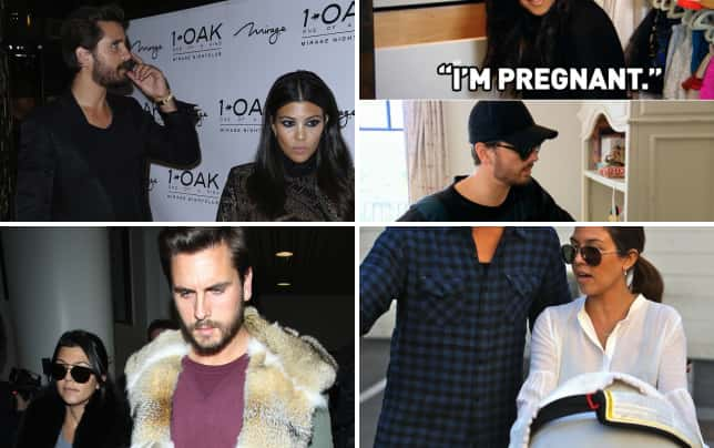 Kourtney and scott worlds apart