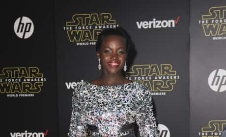Lupita Nyong'o: 'Star Wars: The Force Awakens' Premiere