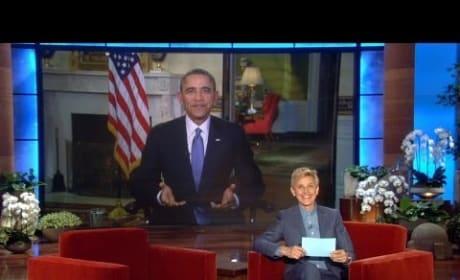 President Obama on Ellen, Part 2