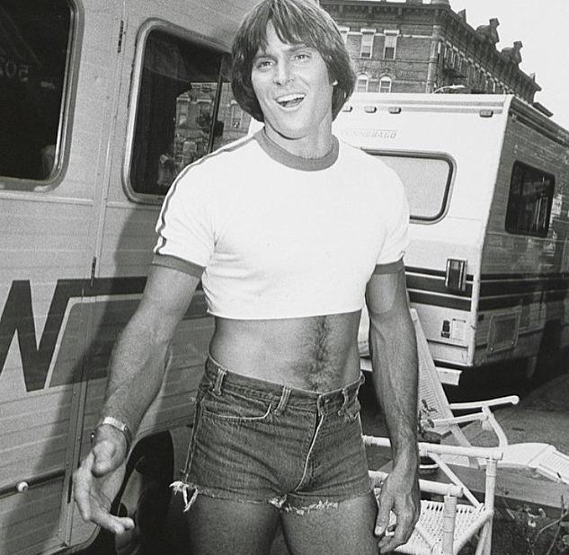 Bruce Jenner: Short Shorts Photo