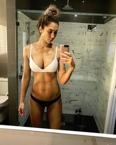 Chontel Duncan, Post-Baby Abs
