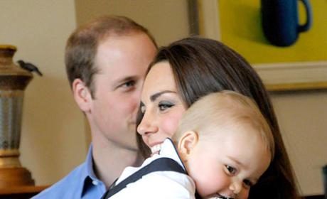 Prince George, Mommy Hug