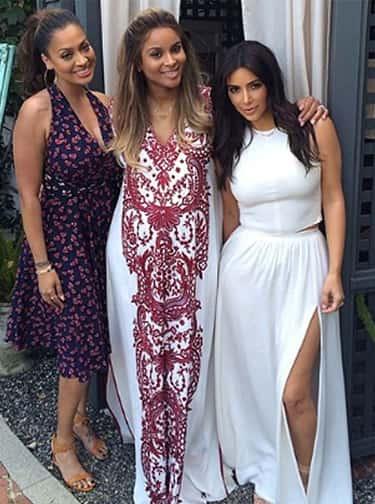 Kim Kardashian, Ciara and LaLa