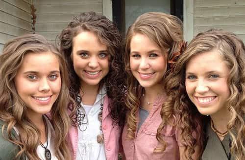4 Duggar Sisters