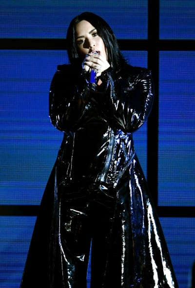 Demi Lovato on Billboard Stage