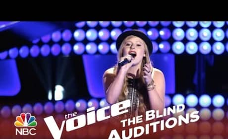 Jessie Pitts - The Story (The Voice Audition)