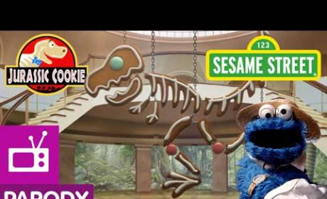 Sesame Street Parodies Jurassic Park