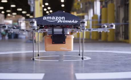 What do you think of the Amazon Prime Air drone delivery system?