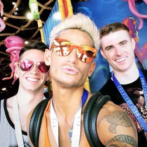 Frankie Grande, Daniel Sinasohn, and Mike Pophis Picture