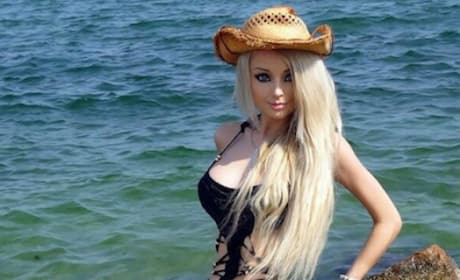 Human Barbie Swimsuit Photo