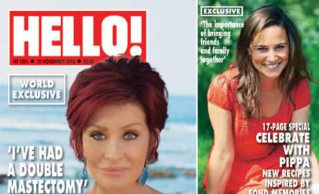 Sharon Osbourne Hello Cover