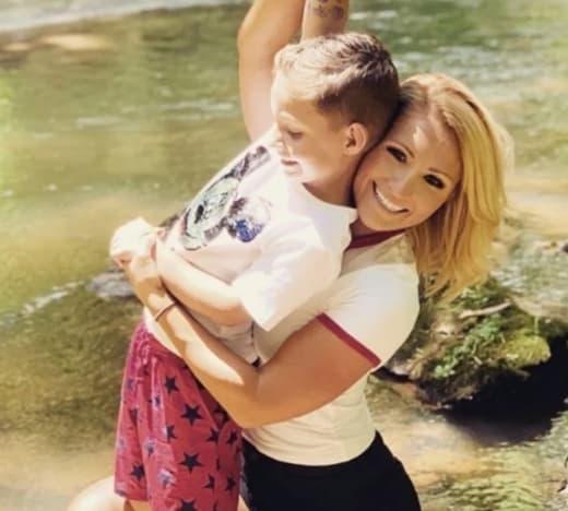 Kaden and Mom