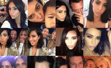 Kim Kardashian and Friends