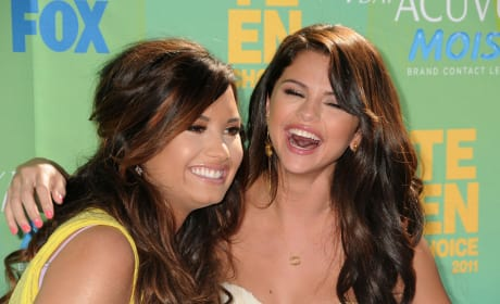 Old School Demi and Selena
