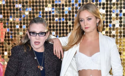 Billie Lourd Shares Sentimental Throwback Photo, Honors Carrie Fisher