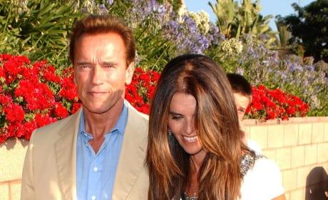 Maria Shriver, Arnold Schwarzenegger Pic
