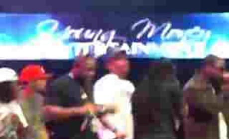 Lil Wayne and Chris Brown LIVE