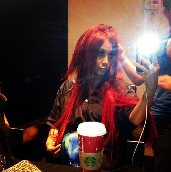 Snooki's Red Hair