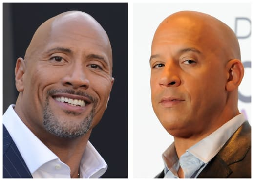 The Rock vs. Vin Diesel