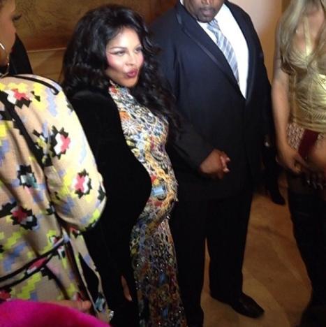 Lil Kim Baby Bump