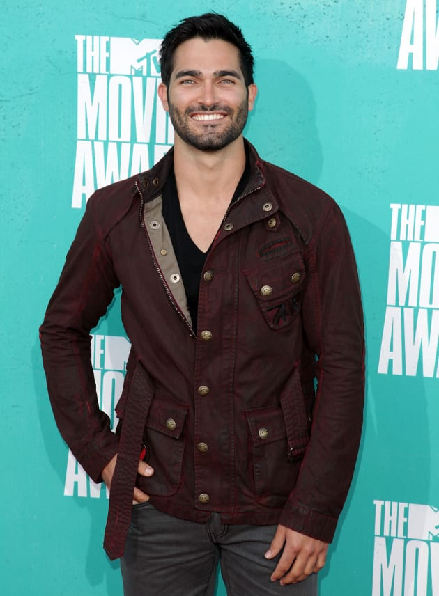 Tyler Hoechlin at MTV Movie Awards