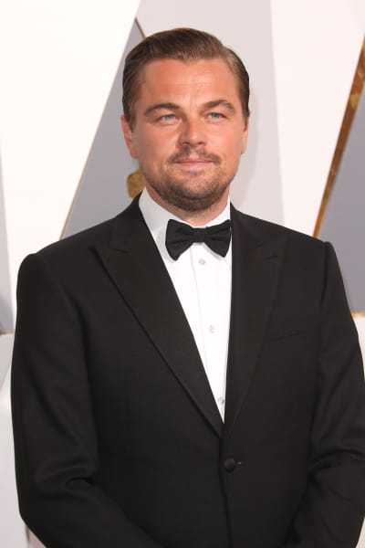 Leonardo DiCaprio at the 2016 Oscars