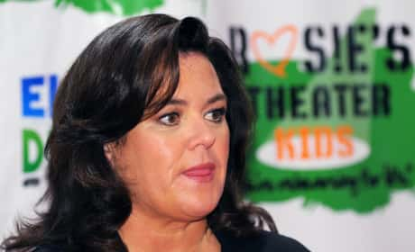 Whose side are you on in the Rosie O'Donnell vs. David Letterman feud?