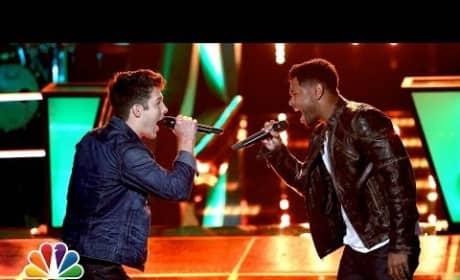 "James Irwin vs. Matt Cermanski: ""Counting Stars"" - The Voice Battle Round"