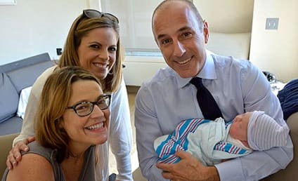 "Savannah Guthrie Posts New Baby Photos, Is a ""Big Ball of Mush"""