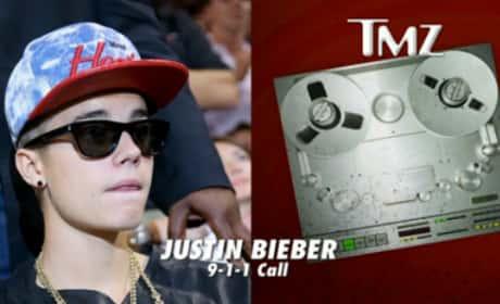 Photographer Calls 911 on Bieber Bodyguards