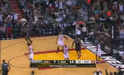 LeBron James Jumps Over Hapless Defender For Dunk; John Lucas III Trends on Twitter