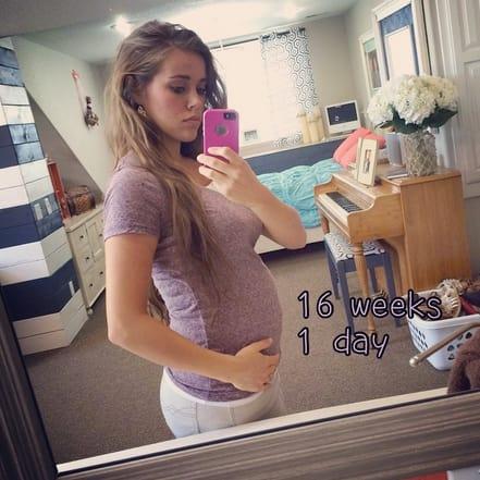 Jessa Duggar Baby Bump: 16 Weeks!
