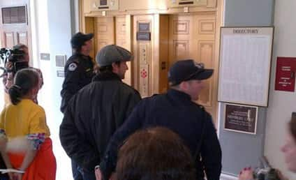 Noah Wyle: Arrested at Medicaid Protest