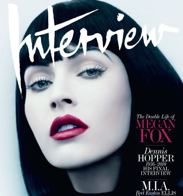Interview Magazine Cover