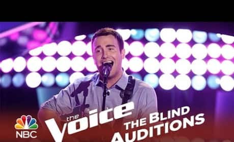 Troy Ritchie - Out of My League (The Voice Audition)