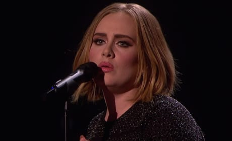 Adele with Short Hair