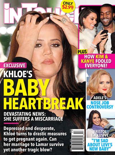 Khloe Kardashian Miscarriage?