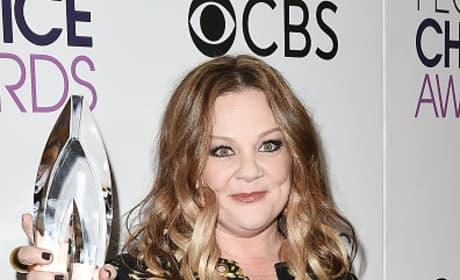 Melissa McCarthy at the People's Choice Awards 2017